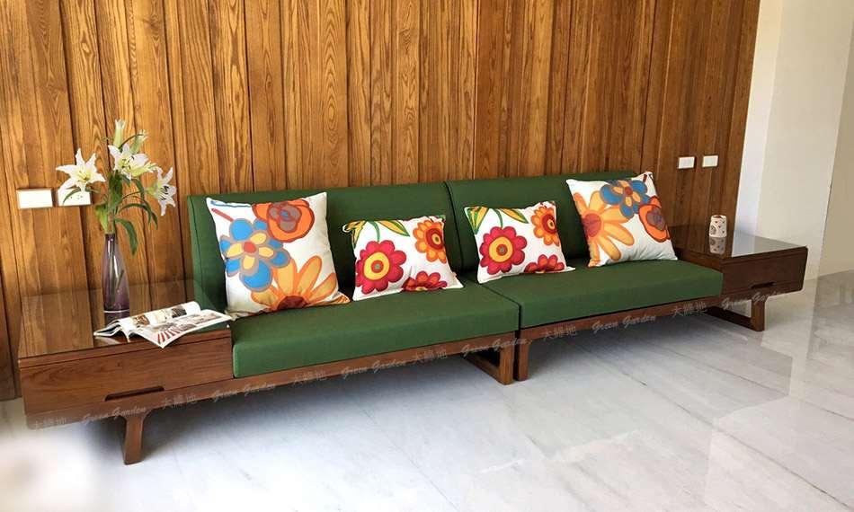 華格納柚木沙發01