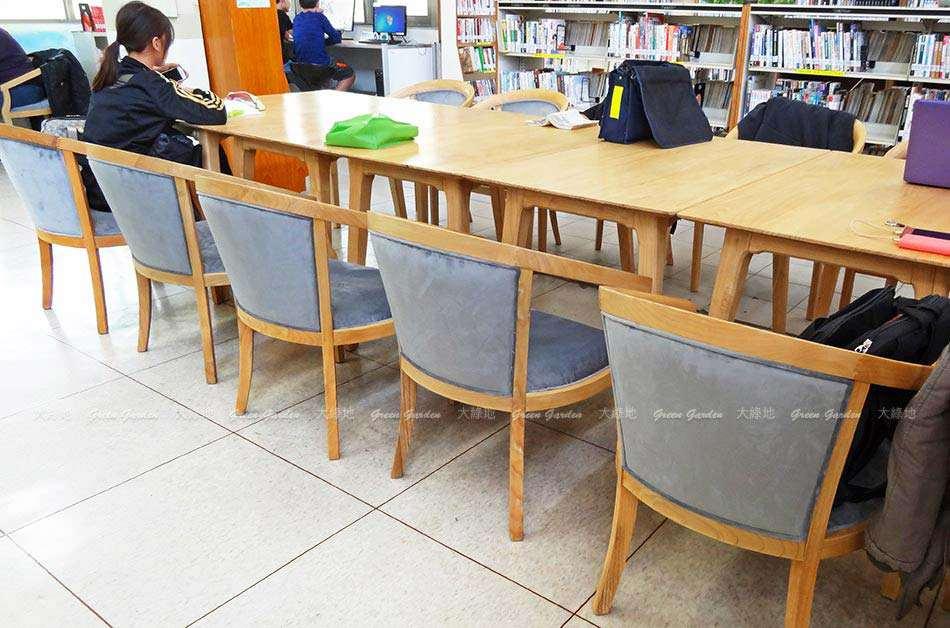 荷比沙發_圖書館桌椅1