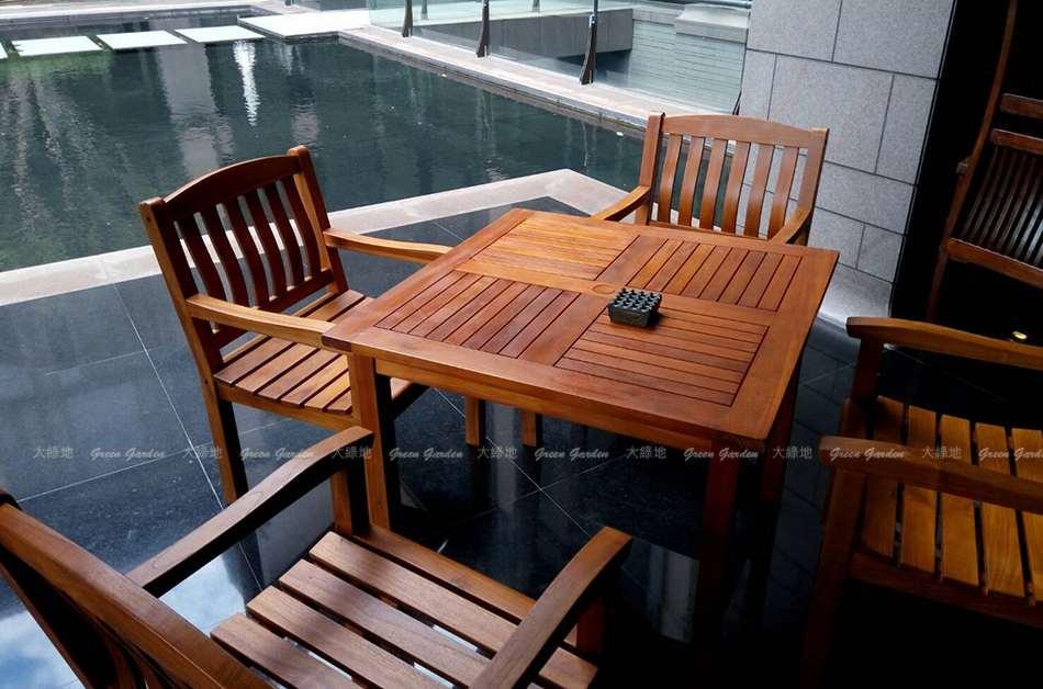 北投麗禧戶外桌椅組