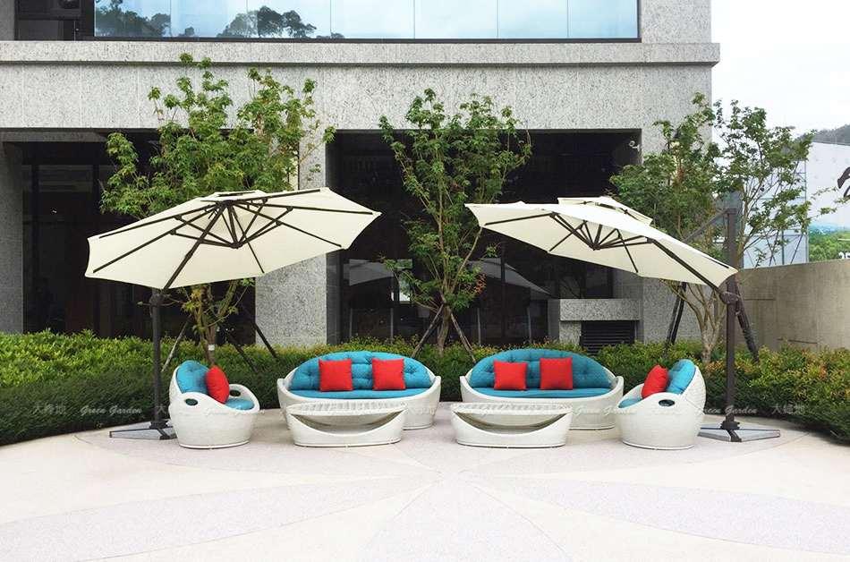 廣場公設休閒沙發