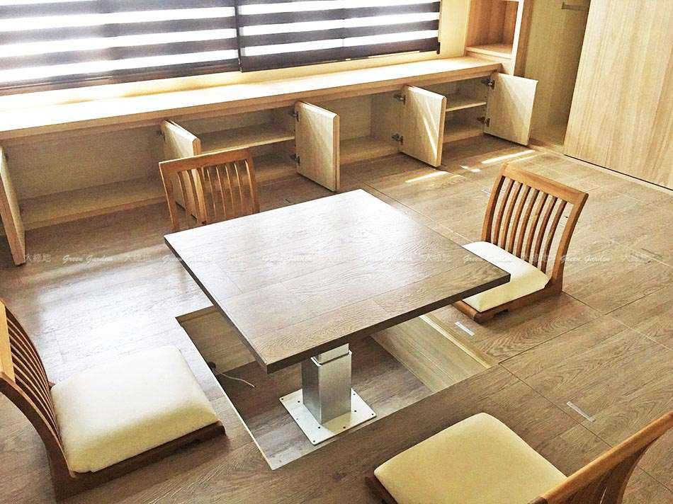 柚木日式桌椅組02