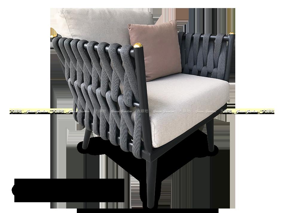 皇冠沙發單人椅