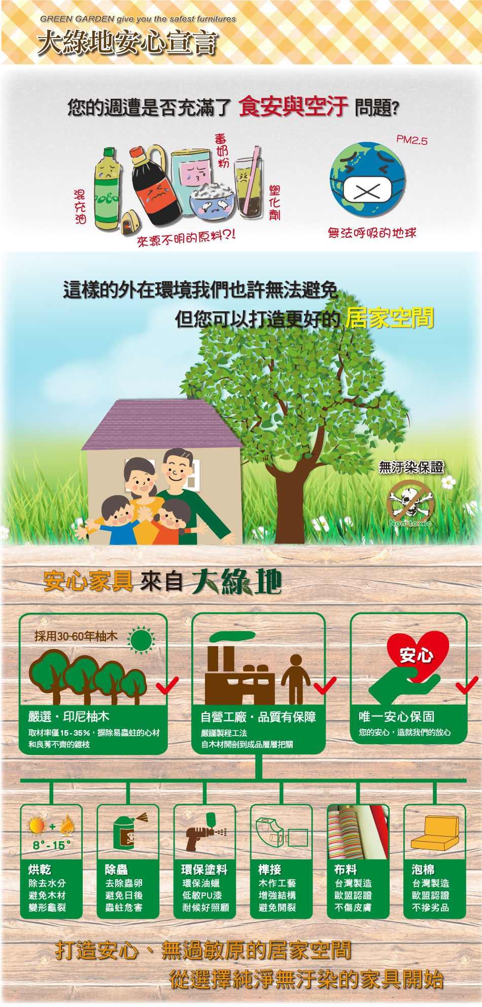 大綠地安心家具