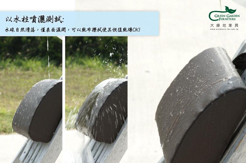 特斯林布料防潑水測試