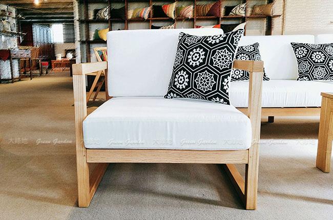 儷姬原木沙發單人椅