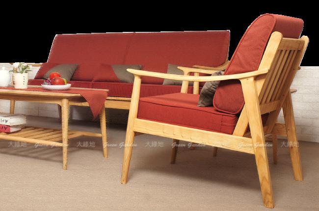 瓦第沙發木頭結構加強