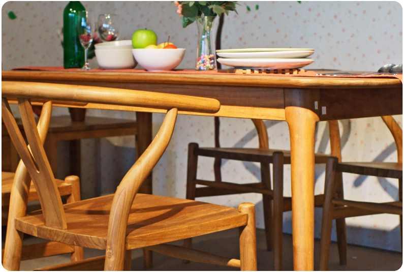 讓家人安心使用的餐桌椅