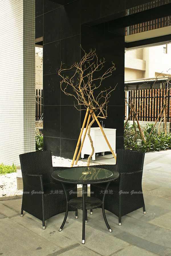 膠藤桌椅4