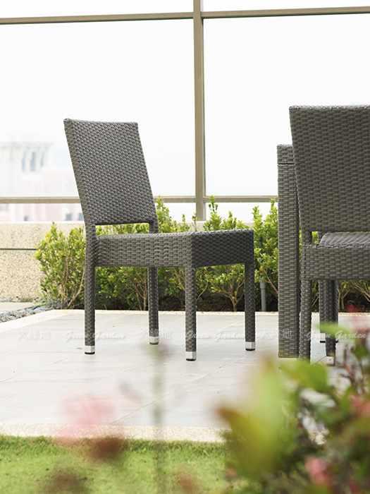 藤編餐椅3